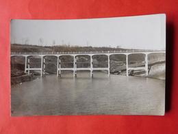 Carte Photo Vers 1910  Pont Photographie A. Herld  Elsenborn - Photographie