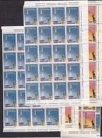 1959 Vaticano Vatican  RADIO 50 Serie Di 2v. Bl.di 20+20+10 MNH** - Vatican
