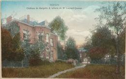 Roisin Château De Bargette Et Laiterie De Mr Laurent Quenon - Honnelles