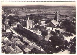 GF (85) 021, Noirmoutier, Lapie 3, Vue Aérienne, Le Château Et L'Eglise St Philbart - Noirmoutier
