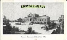 Emilia Romagna-rimini Il Centro Balneare Di Rimini Come Era Nel 1885 ( Anni 40/vedi Retro) - Rimini