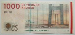 DENMARK  1000 Kroner 2012 UNC P-69b Suffix K - Danemark