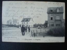 LE COQ : L'église Et Le Café Du CONGO En 1903 - De Haan