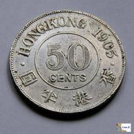 Hong Kong - 50 Cents - 1905 - Hongkong