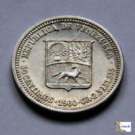 Venezuela - 50 Céntimos - 1960 - Venezuela