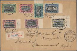 """12384 Ruanda-Urundi - Belgische Besetzung Deutsch-Ostafrika: 1917, """"Ouvert Par La CENSURE MILITAIRE Kigoma - Ruanda-Urundi"""