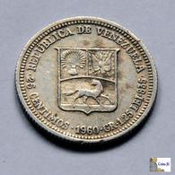 Venezuela - 25 Céntimos - 1960 - Venezuela