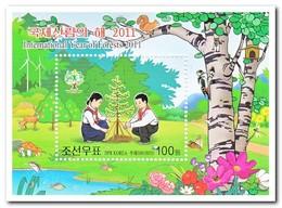Noord Korea 2011, Postfris MNH, Trees - Korea (Noord)
