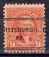 USA Precancel Vorausentwertung Preo, Locals Pennsylvania, Pittsburgh 641-243 - Vereinigte Staaten