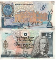 "SCOTLAND   £5  ""The Royal Bank Of Scotland"" P363  Commemorative 250th St.Andrews Golf   2004   UNC - Schotland"