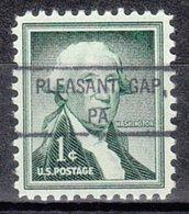 USA Precancel Vorausentwertung Preo, Locals Pennsylvania, Pleasant Gap 807 - Vereinigte Staaten
