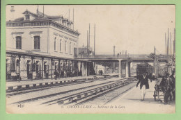 CHOISY LE ROI : Intérieur De La Gare. 2 Scans. Edfition ELD - Choisy Le Roi