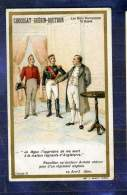 Chromo GUERIN-BOUTRON Histoire 1820 Napoléon Docteur Arnold Chirurgien UK Minot - Guérin-Boutron