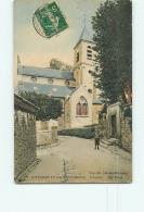 VILLENEUVE SAINT GEORGES : L'Eglise. 2 Scans. Edfition Déchet Dumont - Villeneuve Saint Georges