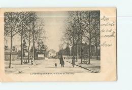 FONTENAY SOUS BOIS : Entrée De Fontenay. Dos Simple. 2 Scans. Edfition ? - Fontenay Sous Bois