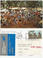 Thailand Open Air Market In Rural Area PPC 21jan1980 - Event PPC By IVECO Trucks Best Sellers Cruise - Tailandia