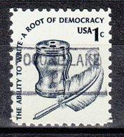 USA Precancel Vorausentwertung Preo, Locals Pennsylvania, Pocono Lake 841 - Vereinigte Staaten