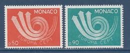 Monaco - YT N° 917 Et 918 - Neuf Sans Charnière - 1973 - Monaco