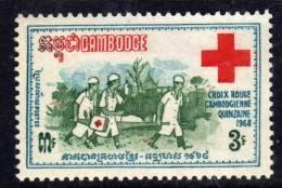 Cambodge N° 213 XX  Quinzaine De La Croix-rouge Nationale Sans Charnière  TB - Cambodia