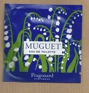 POCHETTE ECHANTILLON SACHET POCKET FRAGONARD - Perfume Samples (testers)