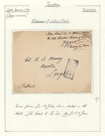 16379 Türkei - Stempel: 1918, POW Cover Written In YOZGAD (Turkey) By E.H. Jones, Tied By Boxed Istanbul C - Turkey