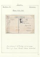 16380 Türkei - Stempel: 1917, POW Cover Written In KASTAMONI (Turkey) By E.L. Duxbury, Tied By Boxed Galat - Turkey