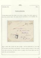 16382 Türkei - Stempel: 1918, POW Cover Written In BOR ( Prov. Nigde Turkey) By Private Warson, Tied By Bo - Turkey
