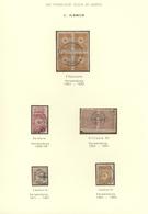 16388 Türkei - Stempel: 1870-1905, Album Page With Cancellations On Stamps, Including Elbassane, Kilisura - Turkey