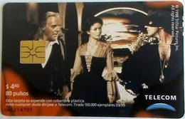 ARGENTINA - Zorro, A. Hopkins/Zeta Jones/A. Banderas  , Tirage 150.000, Used - Argentinien
