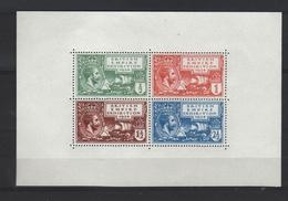 ENGELAND 1924 TENTOONSTELLINGS BLOK  GETAND - Nuovi