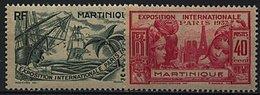 Martinique, N° 161 à à N° 166** Y Et T - Martinique (1886-1947)