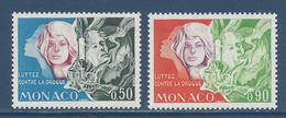 Monaco - YT N° 931 Et 932 - Neuf Sans Charnière - 1973 - Monaco