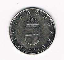 &  HONGARIJE  10 FORINT  2012 - Hongrie