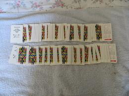 CARTES PUBLICIAIRES BANQUE DES ANTILLES FRANCAISES B.P.GRIMAUD - 2 Jeux  52 Cartes Avec Joker Complet, RARE, VOIR SCANS - Group Games, Parlour Games
