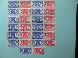 Royal Visit To Caribbean Visita Real Al Caribe Visite Royale 1966 MNH - Colecciones Completas