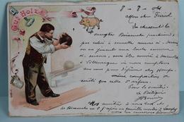 JEU  DE  BOULE   1904 - Bowling