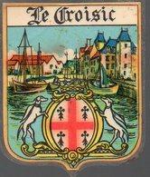 Le Croisic  (44 Loire Atlantique) Blason Plastifié  (PPP12214B) - Vecchi Documenti