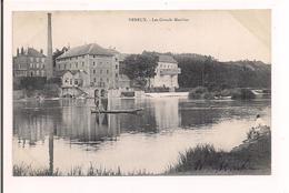 Vereux: Les Grands Moulins - Pêcheur, Lavandière - 1907 - - France