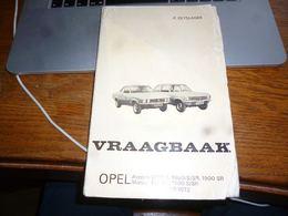 CB9 Livret Manuel Entretien Opel Ascona Manta 1971-72 Vraagbaak P Olyslager - Pratique