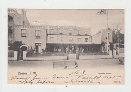 COWES I. W. / GLOSTER HOTEL (avec PHILATELIE) - Cowes