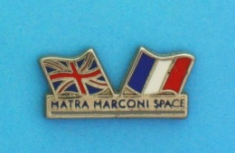 1 PIN'S //   ** MATRA MARCONI / SPACE ** - Space