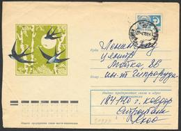 URSS: Intero, Stationery, Entier, Rondine, Swallow, Avaler - Swallows