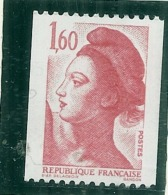 Marianne 1192a Numéro Rouge TTB (traces Dues A Scan) - Francia