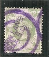 Grande Bretagne (1887/1900)   Du N° 105  Côte 750€ Dents Courtes Oblitéré Vilolette - 1840-1901 (Victoria)