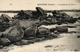 BRIGNOGAN -29- VUE GENRALE LES ROCHERS - Brignogan-Plage