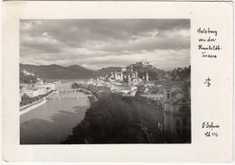 Salzburg Von Der Humboldt-Terasse  - (Verlag Dr. A. Defner) - Salzburg Stadt