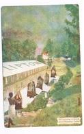 ASIA-1369   CEYLON : Tea Arriving At Foot Of Aerial Ropeway ( Lipton Series) - Sri Lanka (Ceylon)