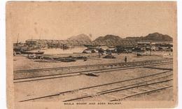 ASIA-1370   ADEN :  Maala Wharf And Aden Railway - Yemen