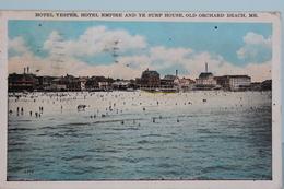 OLD   ORCHARD  BEACH    1930 - Etats-Unis
