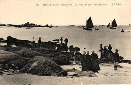 BRIGNOGAN -29- LE PORT LE JOUR DES REGATES - Brignogan-Plage